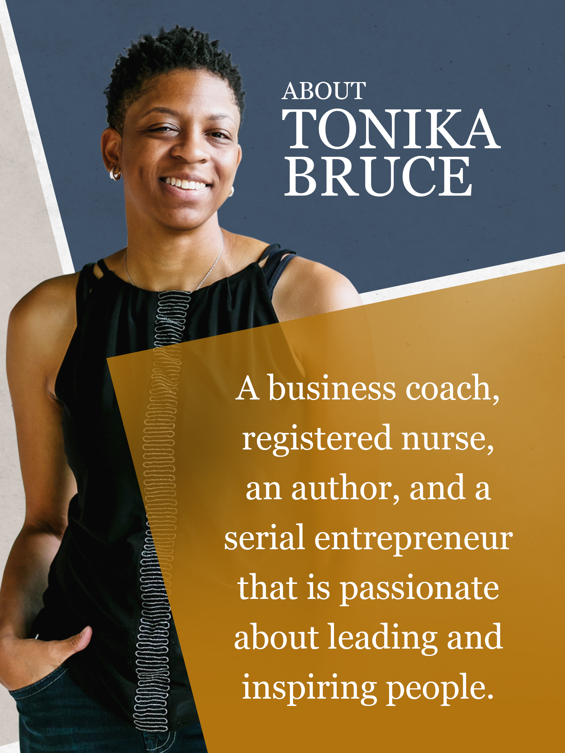Who is Tonika Bruce