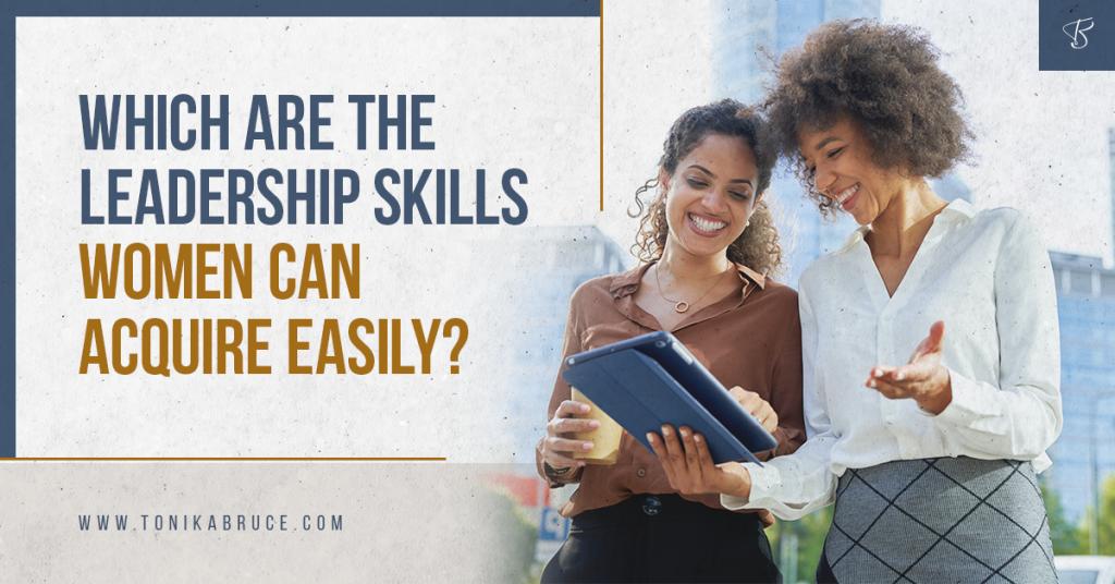 women leadership skills